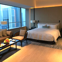 Chengdu hotels for corporate meetings, Niccolo is a fine pick - photo by Vijay Verghese