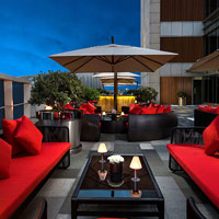 Rooftop bar Vantage XXVII at The St Regis