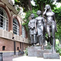 Guangzhou fun guide for family, Shamian Island colonial buildings in the West Side