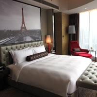 Best Guangzhou business hotels, Sofitel Sunrich corner suite