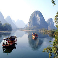 Yangshuo fun guide, cruises and rafting