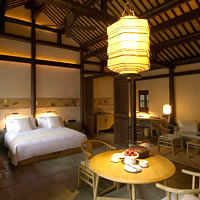 Romantic hotels in Hangzhou, Amanfayun suite