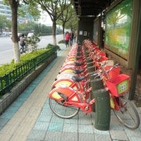 Hangzhou guide to bicycle hire