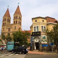 Qingdao guide for families, city cathedral