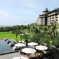 Sanya spa resorts review, Raffles Hainan