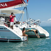 Sanya fun cruise, Serenity Marina offers fishing and more