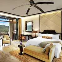 Best Sanya luxury resorts, St Regis is all marble and gleaming wood