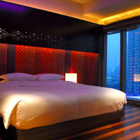 Shanghai hip hotels, Andaz room