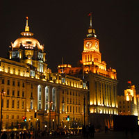 Shanghai fun guide, Bund at night