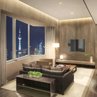 The Shanghai EDITION offers contemporary luxury lifestyle appeal