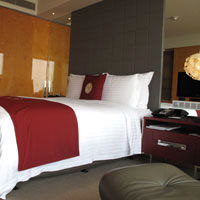 Pudong business hotels near Expo, InterContinental room