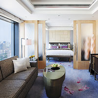 Jing An Shangri-La is a large hotel that will push MICE facilities and modern style