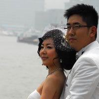 Shanghai weddings on the Bund
