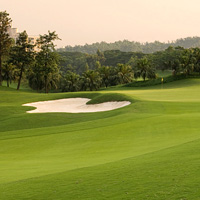 Shenzhen offers the biggest golf course in the world at Mission Hills