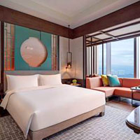 Shenzhen conference hotels, the new Park Hyatt launched July 2019 next to the Conference Center