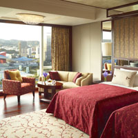Downtown Shenzhen business hotels, Shangri-La Futian Deluxe Room