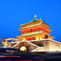 The Xian Bell Tower is an enduring icon of the city