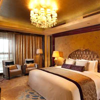 Xian business hotels review, Hilton room