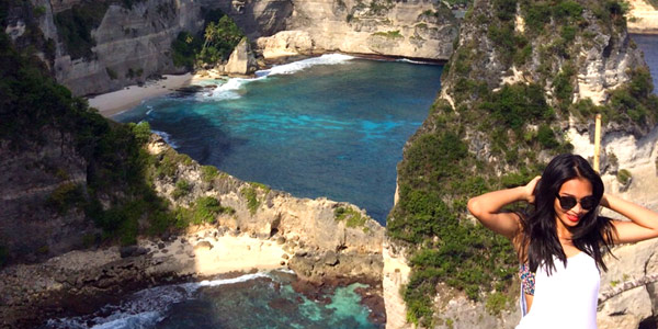 Bali island hopping should take in Nusa Penida's limestone cliffs and white sand beaches