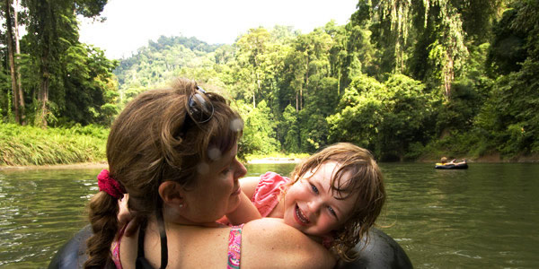 Guide to the best Child-friendly resorts in Asia - Sabah jungle river float