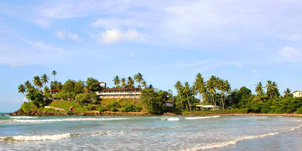Sri Lanka resorts review from beaches to hilly tea estates - Closenberg Hotel overlooks the sea