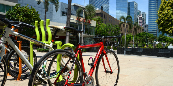 Manila fun guide, Bonifacio Global City High Street bicycles