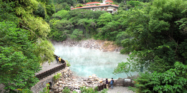 Taipei Spas And Hot Springs In The Beitou Area