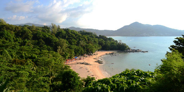 Phuket fun guide for families - a secret beach south of Surin