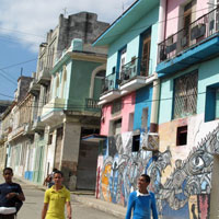 Cuba guide, the colourful Callejon de Hamel neighbourhood