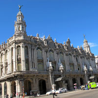 Cuba guide, the grand theatre for ballet or opera