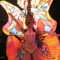 Cuba nightlife guide, dancer at the Tropicana Nightclub
