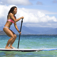 Stand up Paddle Surfing (SUP) is the new normal