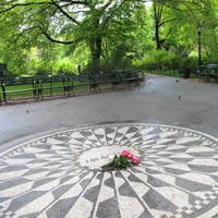 New York guide, Strawberry Fields in Central Park