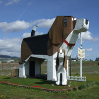 Amazing hotels, Dog Bark Park Inn Idaho is love at first bite