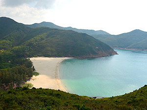 Best Asian beaches, Long Ke Wan in Hong Kong is a pristine stretch of sand