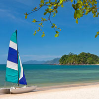 Andaman Langkawi has a fine beach for families