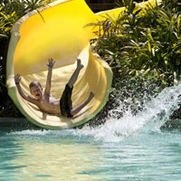 Langkawi child-friendly hotels, Andaman splash slide