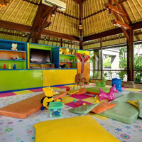 Child friendly resorts, Ayana kids club in Bali