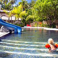 Best child-friendly hotels in Maldives, Cheval Blanc kids' pool