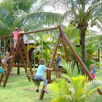 Good family resort - playground, Coco Beach Resort, Vietnam