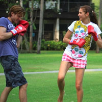 Boxing for kids at Evason Hua Hin