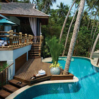 Four Seasons Samui is a luxe escape but manages to keep tots happy