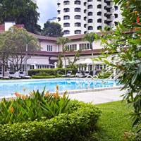 Goodwood Park Singapore is a great family friendly hotel