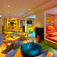 Hard Rock Bali has several child friendly facilities