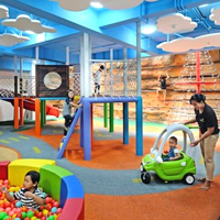 Jambuluwuk Oceano Seminyak has a great children's play area