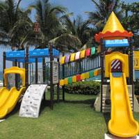 Sanya child friendly hotels, Wanda Vista Haitang Bay play area