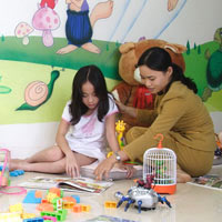 Palm Garden is a very family-friendly spot with activities for kids