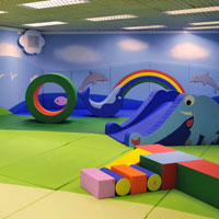 Regal Airport Hong Kong has 2,100 square feet of play area for children
