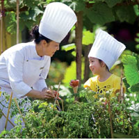 Ritz-Carlton Sanya is a fun hoiliday for the family with cooking classes and more