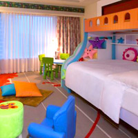 Macau family rooms with bunk beds at Sheraton Grand Macao